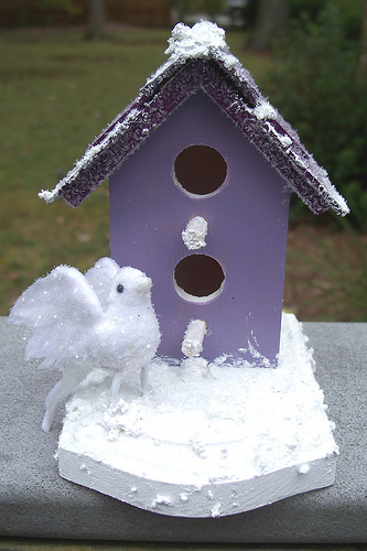 Christmas Bird House6