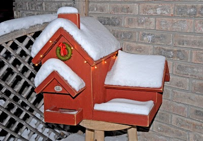 Christmas Bird House1