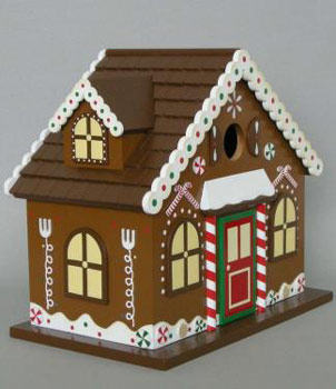 Christmas Bird House2