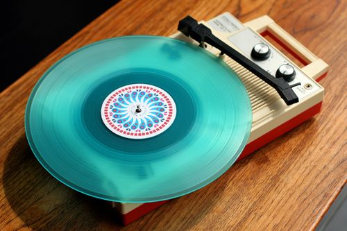Blue phonograph from dan stiles Sharesomecandy