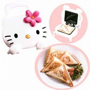 Hello kitty sandwich_maker7