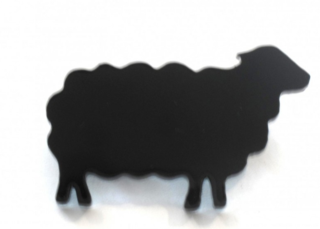 Black sheep pin