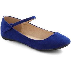 Blue Flat Modcloth