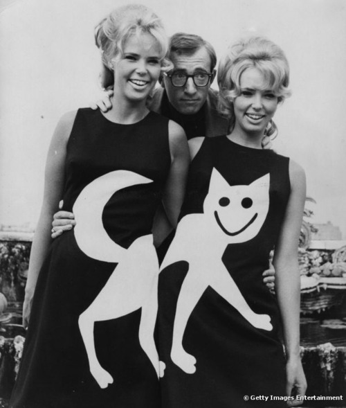 Woody Allen, Twins in Cat Dresses