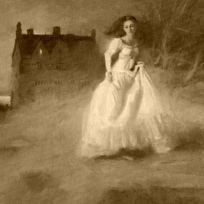 Girl and castle_quillcottagedotblogspotdotcom